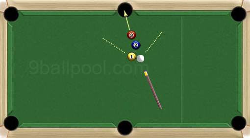how to make trick shots in pool